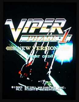 Viper Phase 1 Title Screen